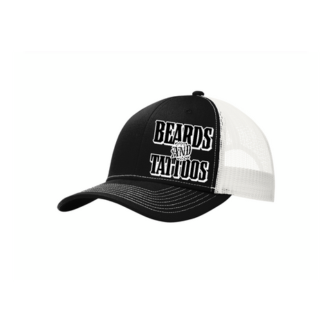 Trucker Hats Beards & Tattoos