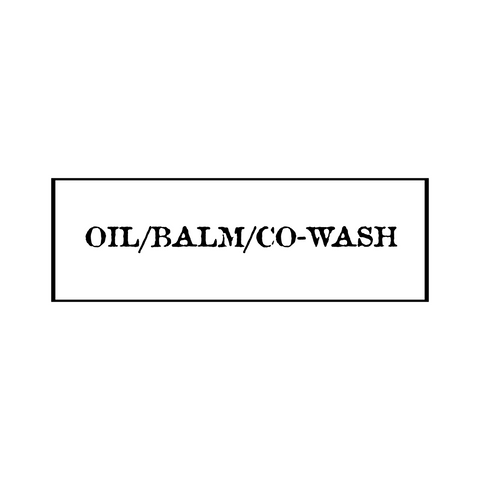Beard Oil/Balm/Co-Wash Set