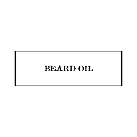 1oz. Beard Oil