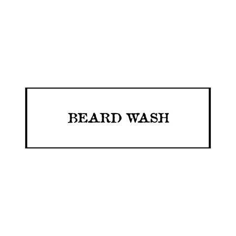 8oz. Beard Wash