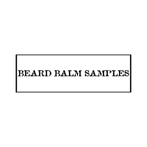 Beard Balm .25oz Samples