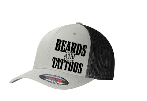 Flex Fit Hats Tattoo/Beard