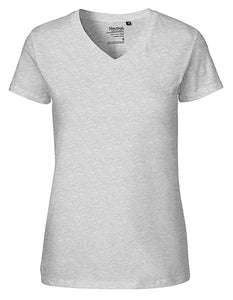 Ladies` V-neck T-Shirt