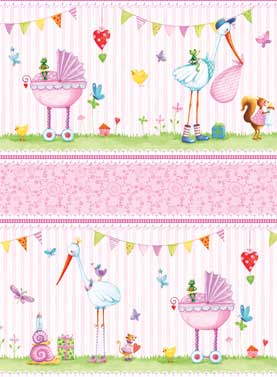 Red Rooster Fabrics - Bundle of Pink - Ref. 1739 - Casa de Tela
