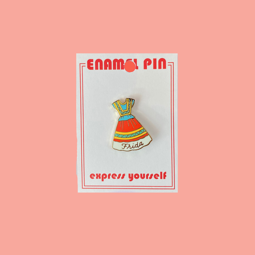 Frida Dress Pin