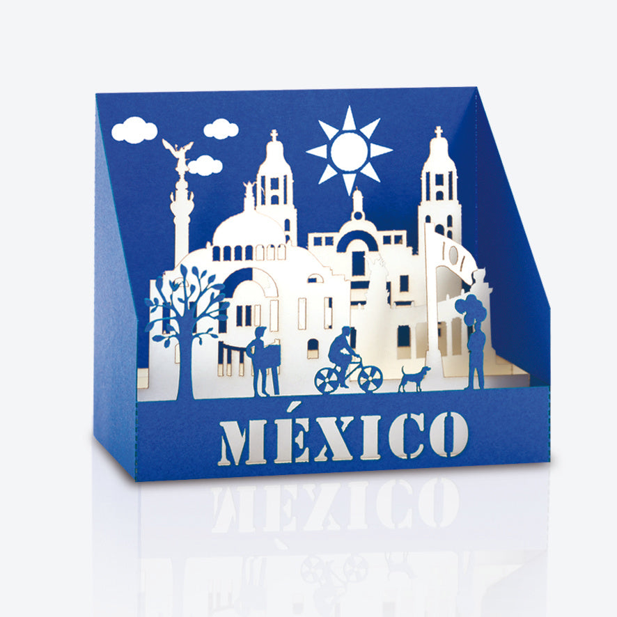 Pop Up Card - Mexico City