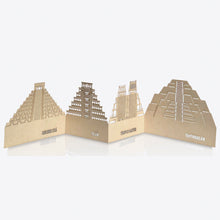 Load image into Gallery viewer, Zig-Zag Pop Up Card - Pyramids