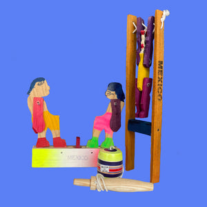 Traditional Wooden Toy Set