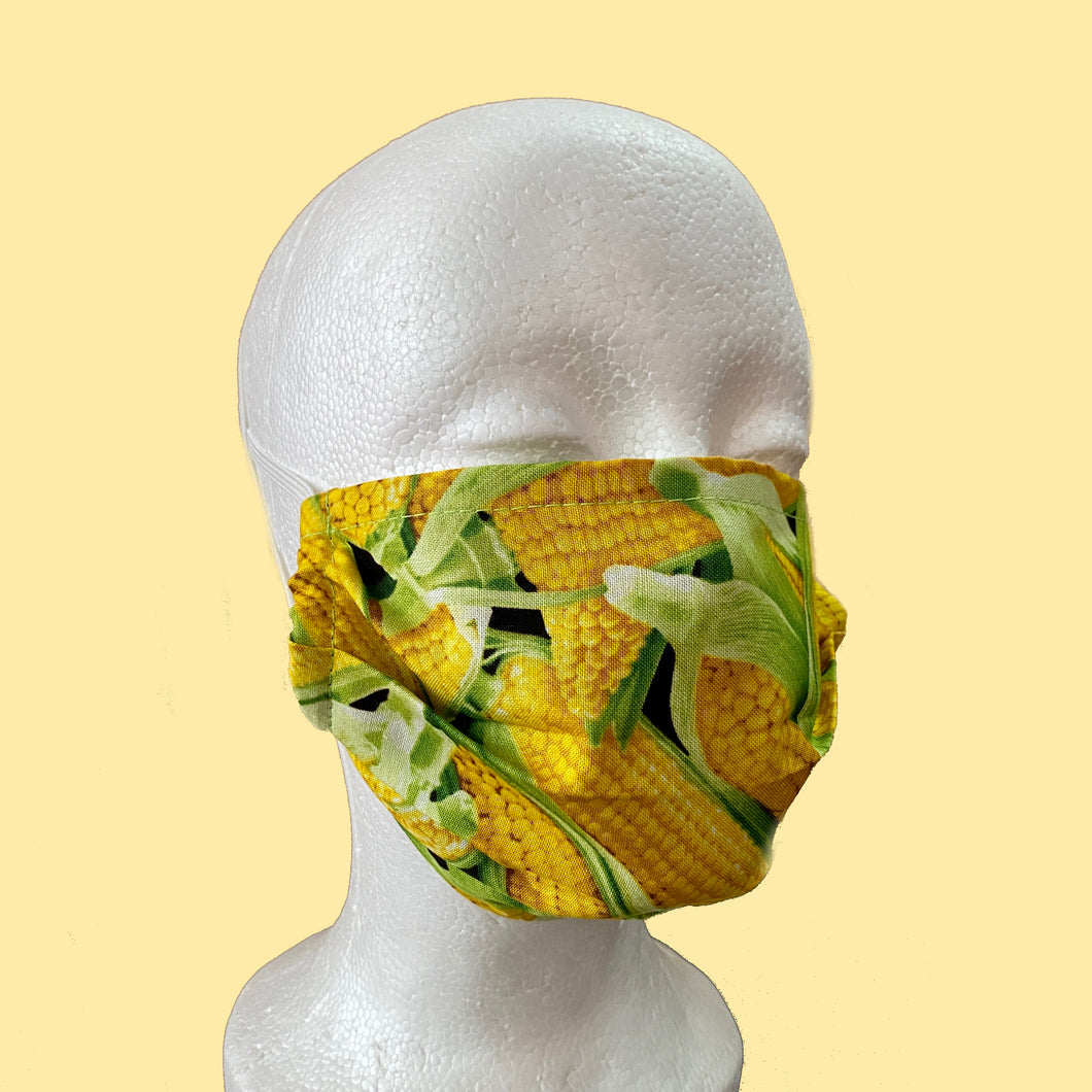 Elote Face Mask- Adult Size