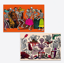 Load image into Gallery viewer, Posada Calaveras Postcard Tin