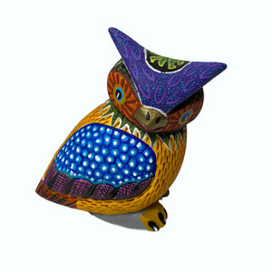 Medium Alebrije Owl by Elvis Castillo