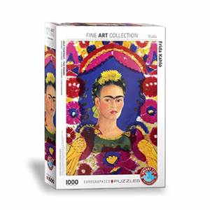 The Frame by Frida Kahlo 1000-Piece Puzzle