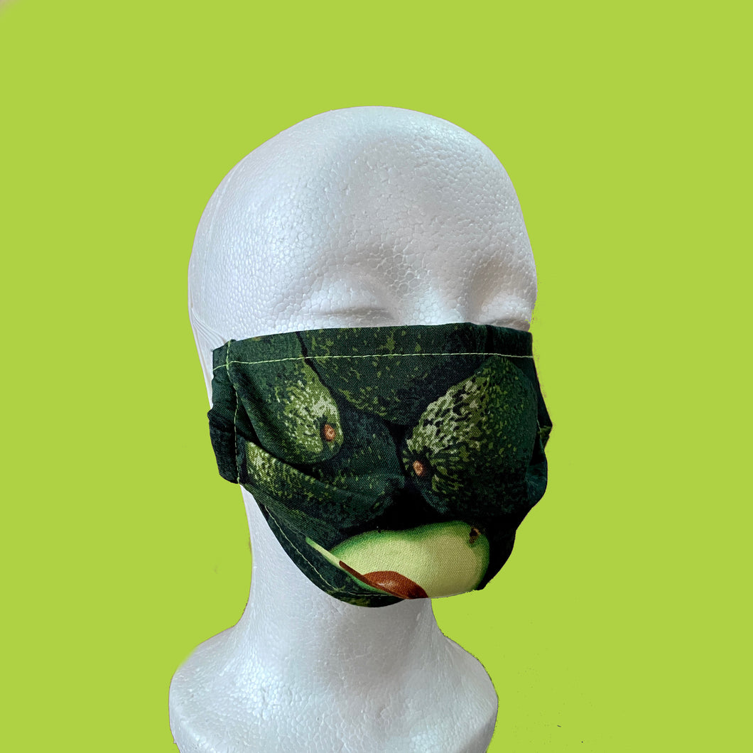 Avocado Face Mask- Adult Size