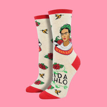 "Load image into Gallery viewer, Women's ""Viva La Vida"" Frida Socks"