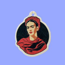 Load image into Gallery viewer, Frida- Fúchila Car Freshener