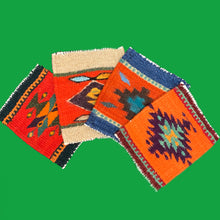 Load image into Gallery viewer, Zapotec Coaster Set - Geometric Motifs