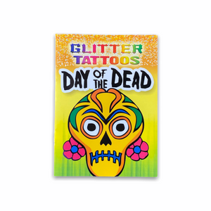 Day of the Dead Glitter Tattoos