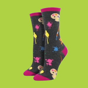 "Women's ""Painter's Palette"" Socks"