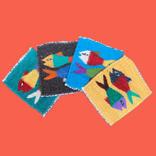 Load image into Gallery viewer, Zapotec Coaster Set - Animals