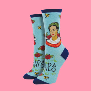 "Women's ""Viva La Vida"" Frida Socks"