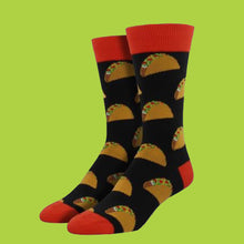 "Load image into Gallery viewer, Men's ""Taco"" Socks"