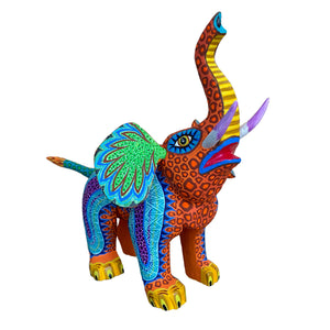 Medium Alebrije Elephant by Elvis Castillo