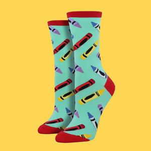 Women's Crayon Socks