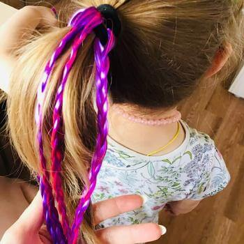 Colorful Pony Tail Hair Bands for Girls