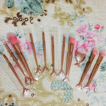 Load image into Gallery viewer, Mermaid Makeup Brushes Set - The Shimmering You