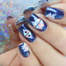 Load image into Gallery viewer, Nail Art Stamping Plates - The Shimmering You