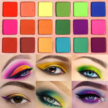 Load image into Gallery viewer, Rainbow Colours Eyeshadow Palette - The Shimmering You