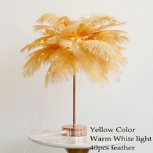 Load image into Gallery viewer, DIY Feather Table Lamp - The Shimmering You