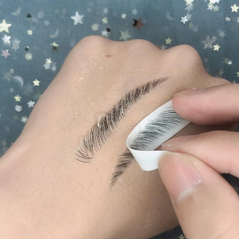 4D Stick-On Eyebrows - The Shimmering You