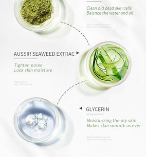 Matcha Facial Exfoliator - The Shimmering You
