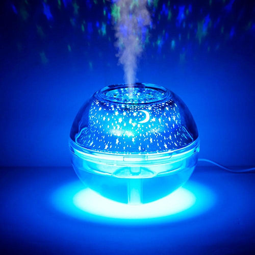 Crystal Night Light Projection Humidifier. - The Shimmering You