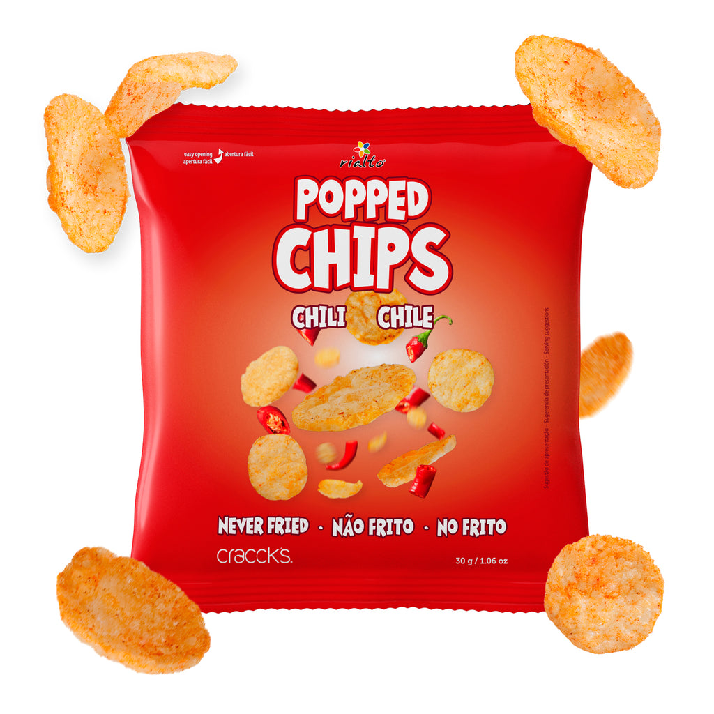 Popped Snacks Chili 30g