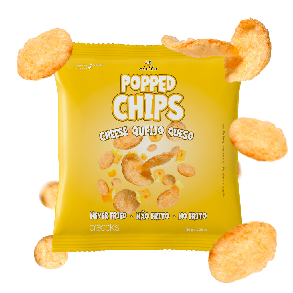 Popped Snacks Queijo 30g