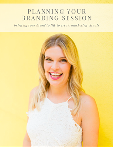 Planning A Branding Session Resource