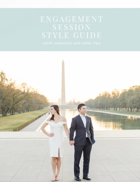 Engagement Session Style Guide Resource