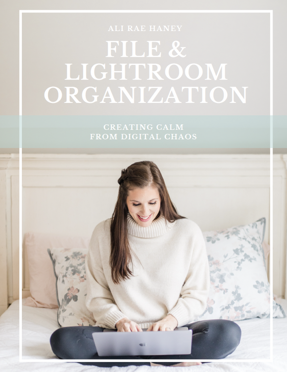 File & Lightroom Organization Framework
