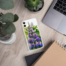 Load image into Gallery viewer, Lupine iPhone Case