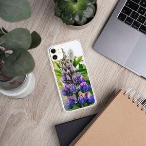 Lupine iPhone Case