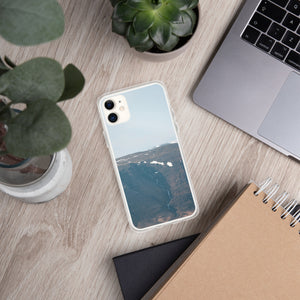 Blue and Far iPhone Case
