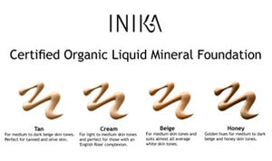 Inika - Certified Organic Liquid Foundation