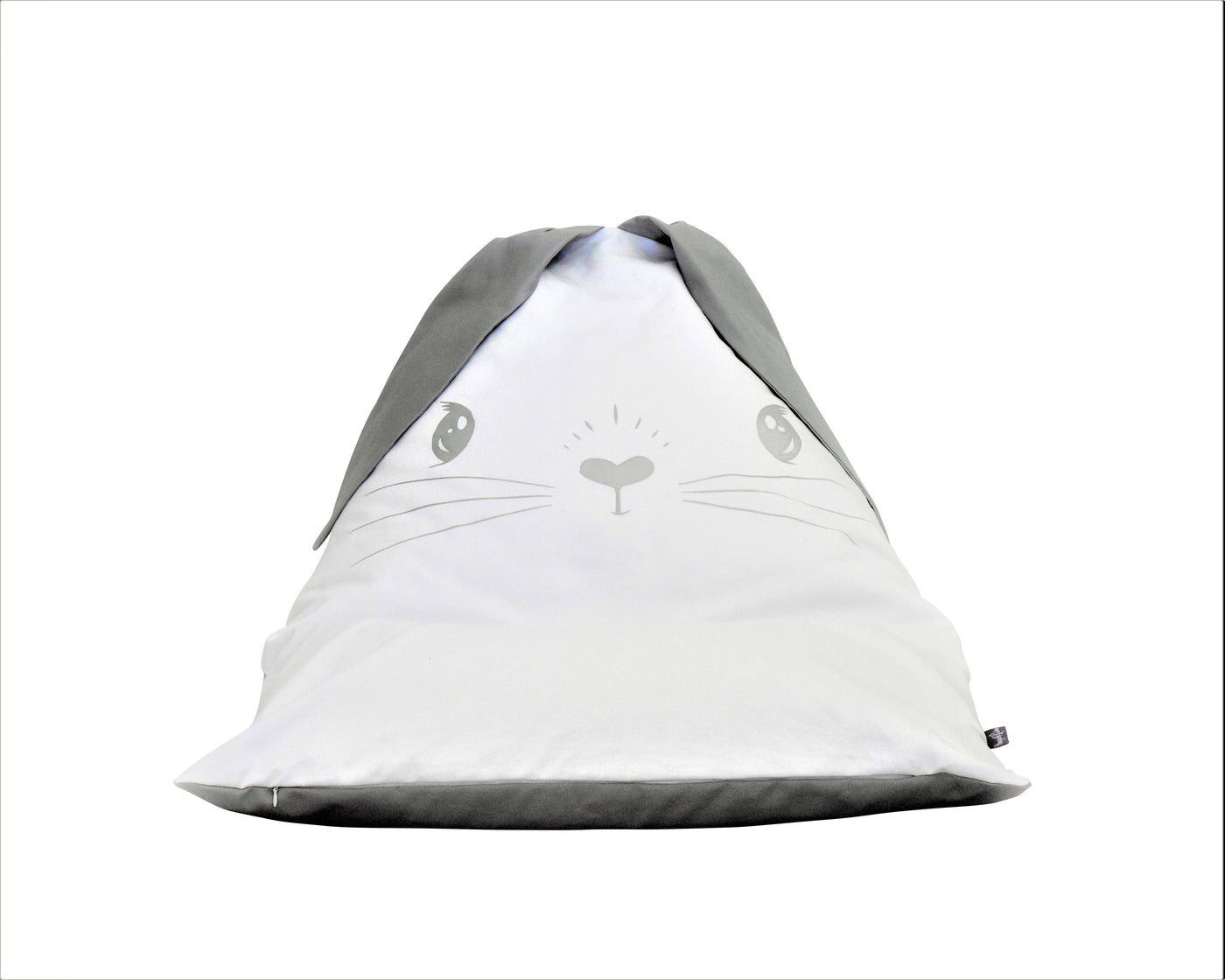 FILLED Maya Rabbit Personalised Bean bag Chair - White