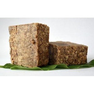 100% Raw African Black Soap-The Necessities Company