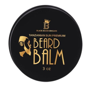 Black Beard Brigade Beard Balm (3oz) - The Necessities Company