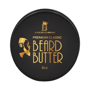 Black Beard Brigade Beard Butter (3oz)-The Necessities Company