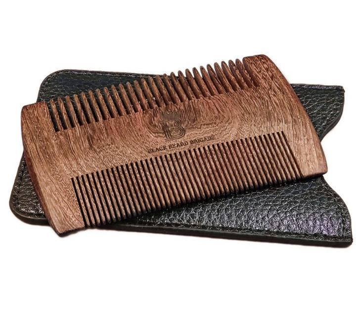 Black Beard Brigade Sandalwood Comb - The Necessities Company