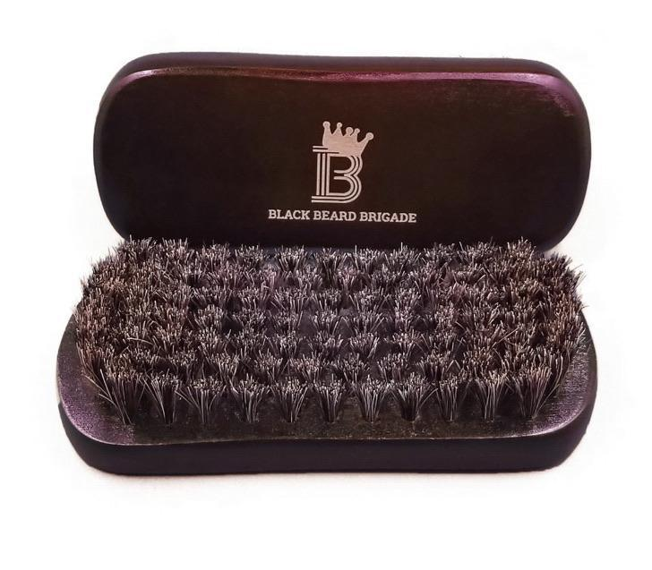 Black Beard Brigade Wooden Brush-The Necessities Company